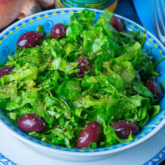 Marulli Insalata Verde con Olive